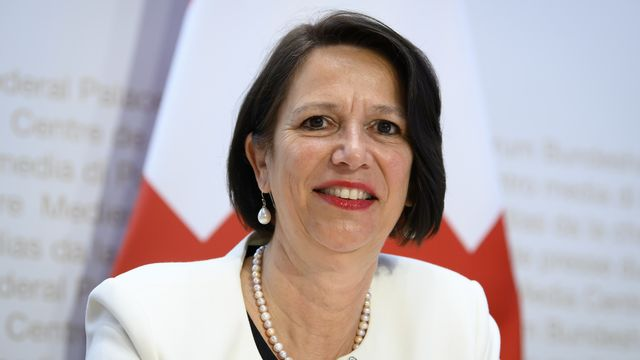 Christine Schraner Burgener va prendre la direction du Secrétariat des migrations. [Anthony Anex - Keystone]
