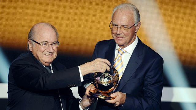 Sepp Blatter et Franz Beckenbauer, à la belle époque.