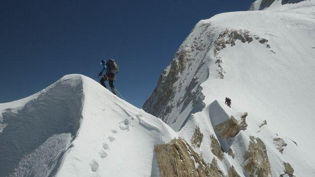 Photo extraite du documentaire de la RTS Les Monts célestes. [RTS]