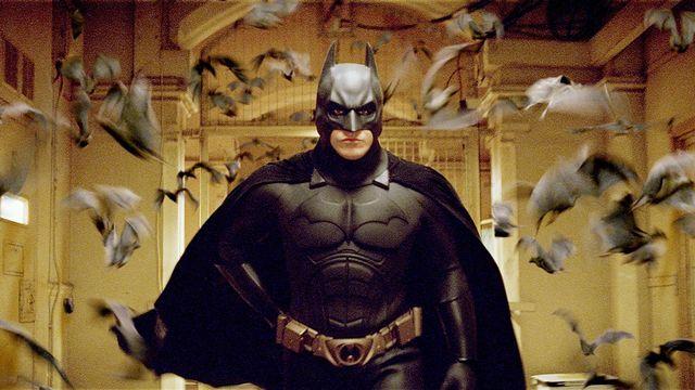 Image issue du film Batman Begins de Christopher Nolan 2005. [Warner Bros. Pictures / Syncopy / Courtesy of Warner Bros. / Collection ChristopheL via AFP]