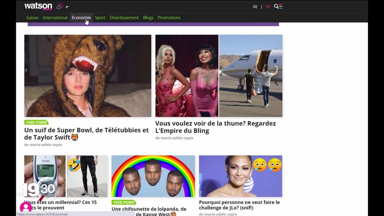 Une nouvelle plateforme d'information gratuite en ligne débarque en Suisse romande: Watson a lancé son site francophone. [RTS]