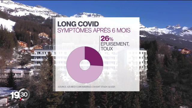 Des mois après leur infection au coronavirus, des personnes continuent de souffrir de symptômes, c'est le Covid long. [RTS]