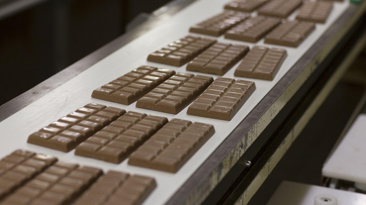La consommation de chocolat s'est effondrée l'année passée en Suisse. [Gaetan Bally - KEYSTONE]