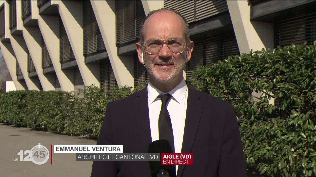 Nouveaux gymnases vaudois: l'interview de l'architecte cantonal Emmanuel Ventura [RTS]