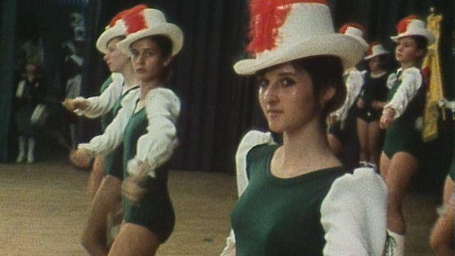 Festival suisse des majorettes à Payerne, 1979 [RTS]
