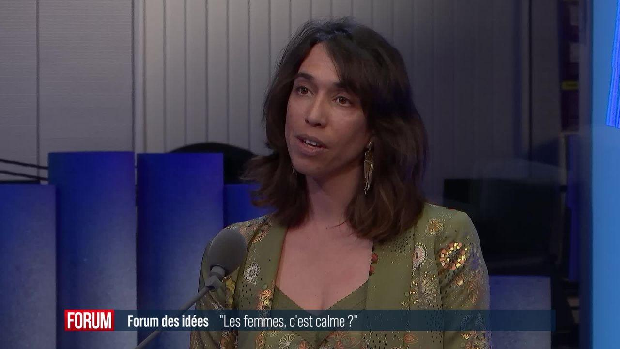"""Forum des Idées - """"les femmes, c'est calme?"""" [RTS]"""