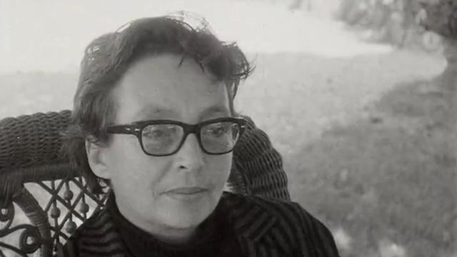 Marguerite Duras en 1966. [RTS]