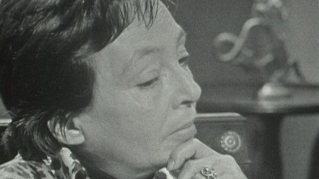 Marguerite Duras en 1964. [RTS]