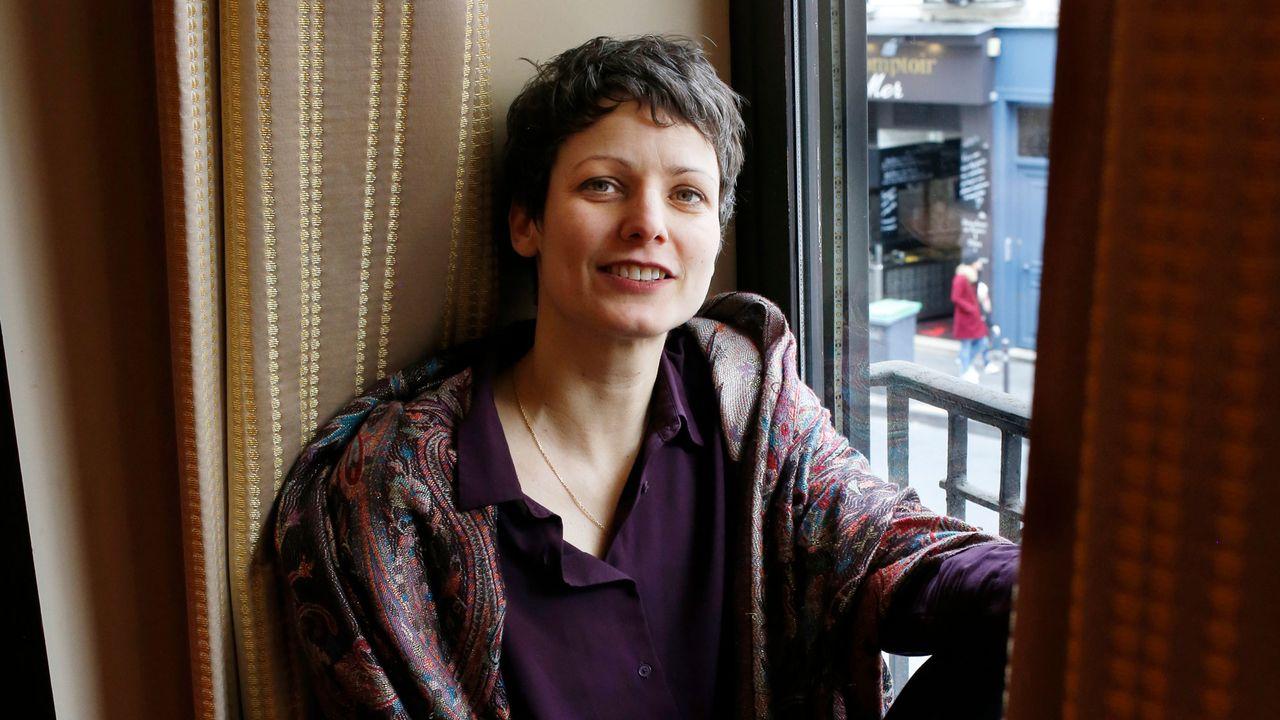 L'écrivaine Sophie Divry. [Louise Oligny - Editions Noir sur Blanc]