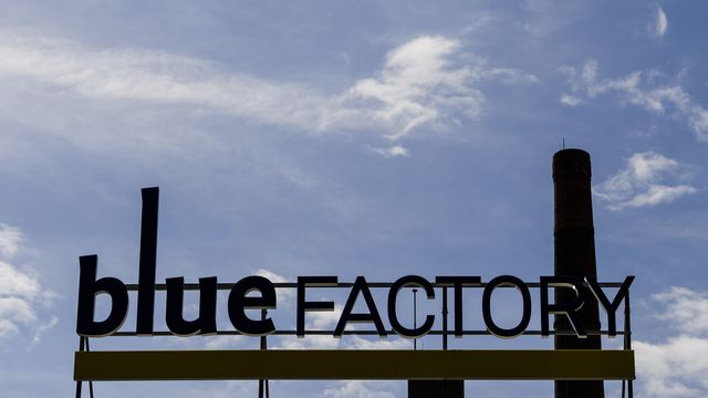 A Fribourg, le parc d'innovation Bluefactory peine à convaincre. [Jean-Christophe Bott - Keystone]