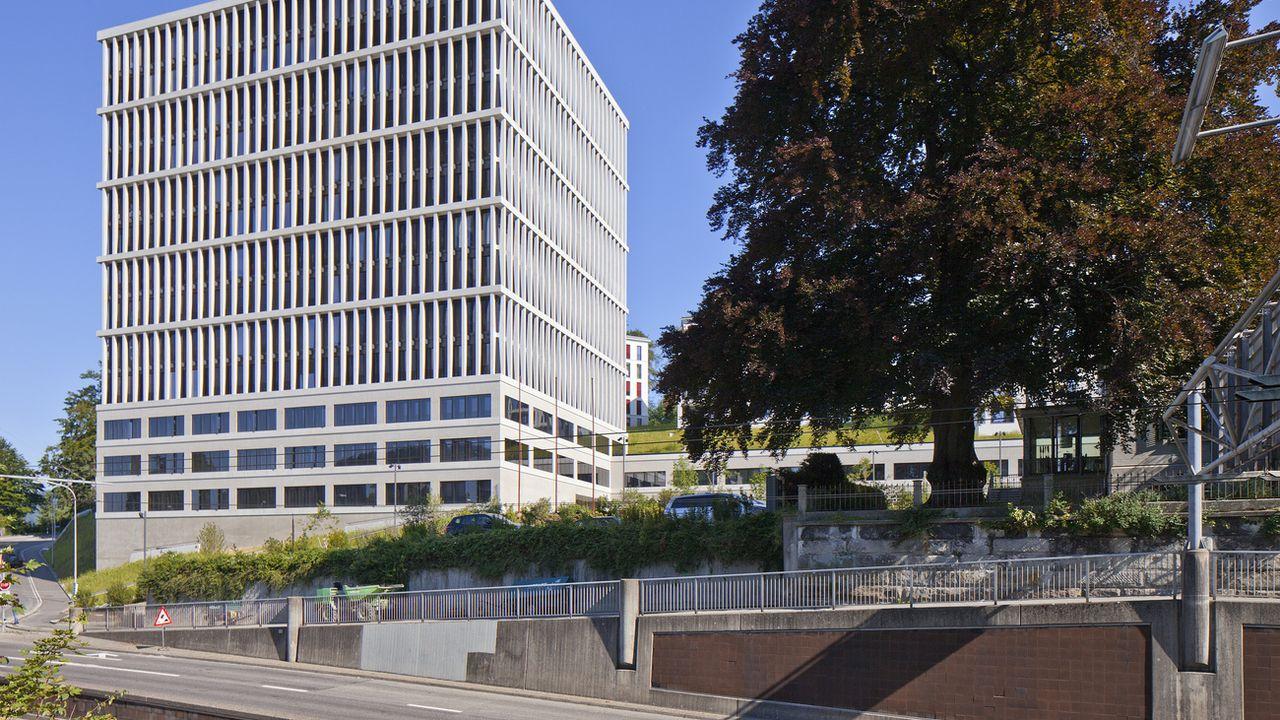 Le siège du Tribunal administratif fédéral à Saint-Gall. [Gaëtan Bally - Keystone]