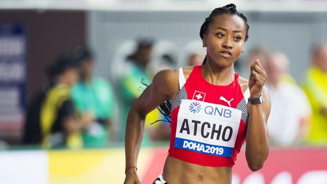 Sarah Atcho (2019). [Jean-Christophe Bott - Keystone]