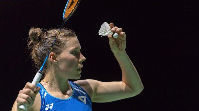 Sabrina Jaquet a commis trop d'erreurs pour espérer se qualifier pour le 2e tour. [Georgios Kefalas - Keystone]