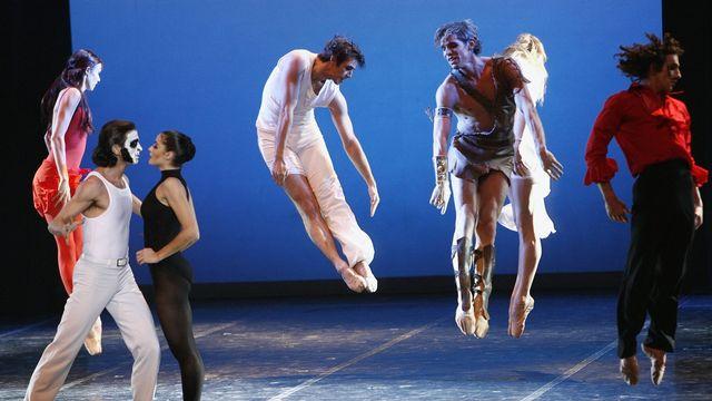Le Béjart Ballet Lausanne lance bejart.tv, sa plateforme de vidéo à la demande [Laurent Gilliéron - Keystone]