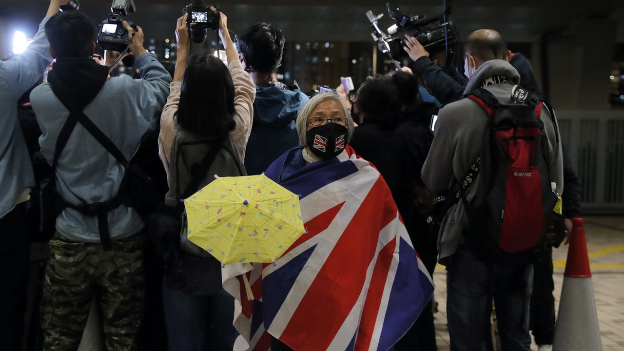 Pékin redoute une nouvelle victoire de l'opposition pro-démocratie à Kong Kong. [Kin Cheung - AP/Keystone]