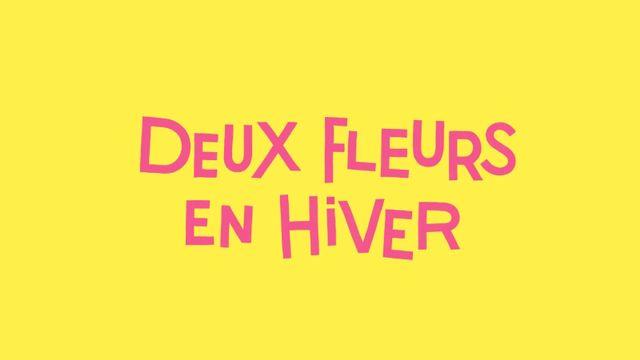 Deux fleurs en hiver, de Delphine Pessin, est l'un des cinq titres en lice pour le Prix RTS Littérature Ados 2021. [Lucia Calfapietra et Nicolò Giacomin - Romans Didier Jeunesse]
