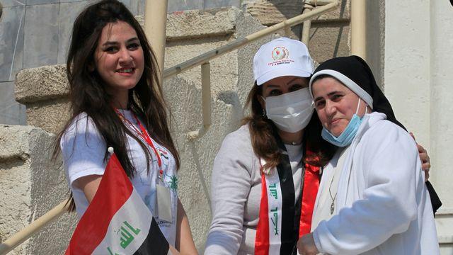 La visite du pape en Irak est attendue par la communauté chrétienne. [Khalid Mohammed - Keystone/AP Photo]