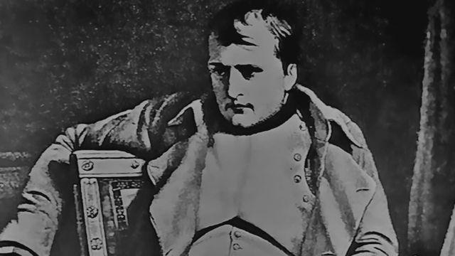 Représentation de Napoléon Bonaparte. [Capture d'écran Les dossiers de l'histoire - RTS]