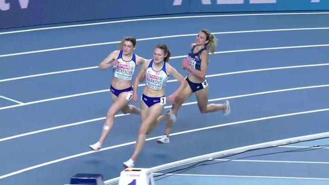 3000m dames, finale: Markovic (GBR) victorieuse devant Finot (FRA) et Ockenden (GBR) [RTS]
