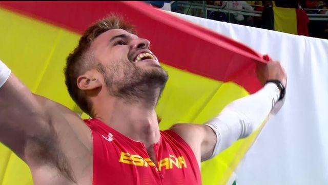 400m messieurs, finale: Husillos (ESP) s'impose en 46.22 [RTS]