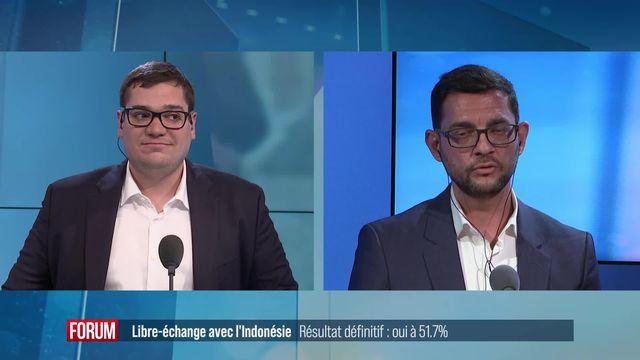 Libre-échange, une victoire annonciatrice de défaites? Interview de Carmelo Lagana [RTS]