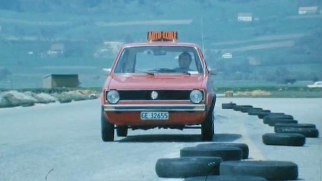 Leçon d'auto-école, 1975. [RTS]