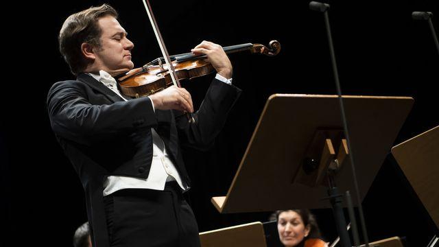 Le violoniste français Renaud Capuçon (2020). [Jean-Christophe Bott - Keystone]
