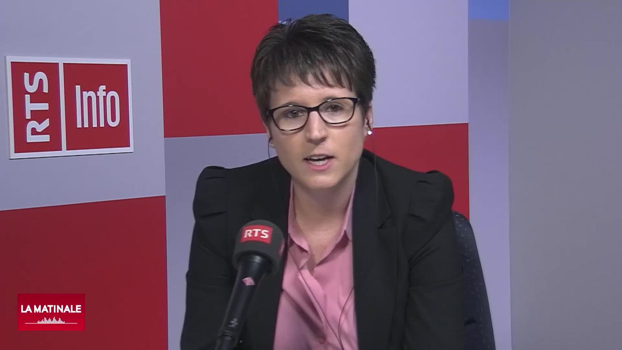 L'invitée de La Matinale (vidéo) - Virginie Heyer, présidente du Conseil du Jura bernois [RTS]