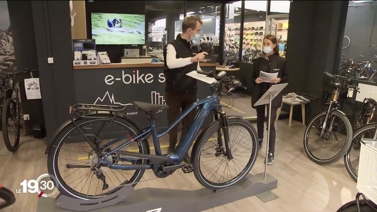Le vélo connait un boom sans précédent. Les chiffres de ventes en Suisse battent des records [RTS]
