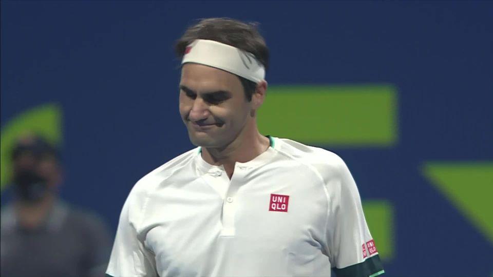 1-4, N. Basilashvili (GEO) - R. Federer (SUI) 3-6, 6-1, 7-5: le Bâlois s'incline en quart de finale pour son retour sur le circuit [RTS]
