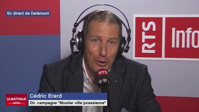 """L'invité de La Matinale (vidéo) - Cédric Erard, politicien et directeur de campagne de """"Moutier ville jurassienne"""" [RTS]"""