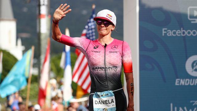 Daniela Ryf débute la saison en fanfare (archives). [Darryl Oumi - Keystone]