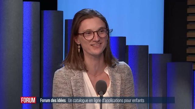 Forum des Idées (vidéo) - Un catalogue en ligne d'applications pour enfants [RTS]