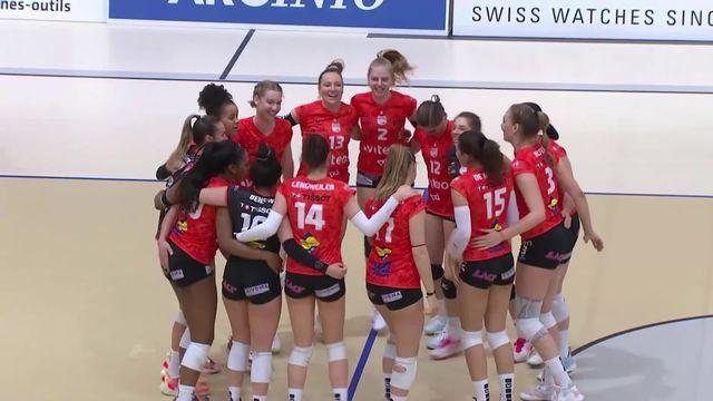 Volleyball, 1-2 finales dames, match 2: Neuchâtel UC égalise à 1-1 face à  Kanti Schaffhouse ( 25-13, 25-15, 25-18) [RTS]