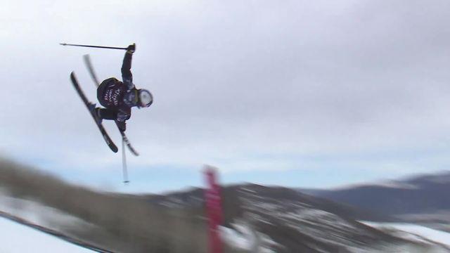 Aspen (USA), Slopestyle, finale dames: 2e place de Mathilde Gremaud (SUI) [RTS]