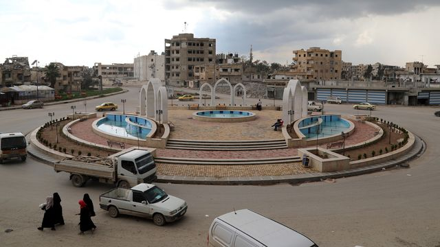 La ville de Raqqa en Syrie. [Ahmed Mardnli - EPA/Keystone]