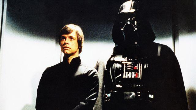Luke Skywalker & Dark Vador [Lucasfilm Archives du 7eme Art Photo12 via AFP]