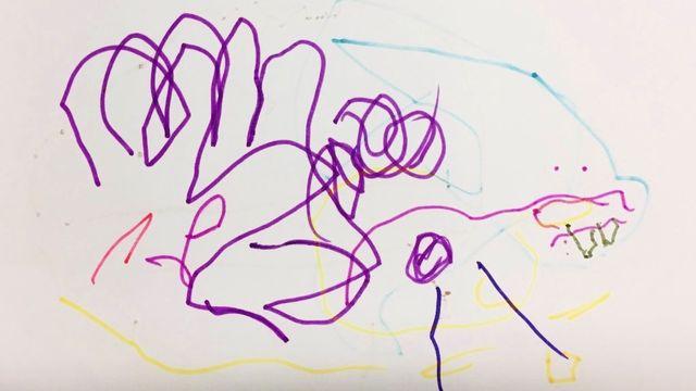 """""""Les monstres"""", un dessin réalisé par Sophie. [Sophie]"""
