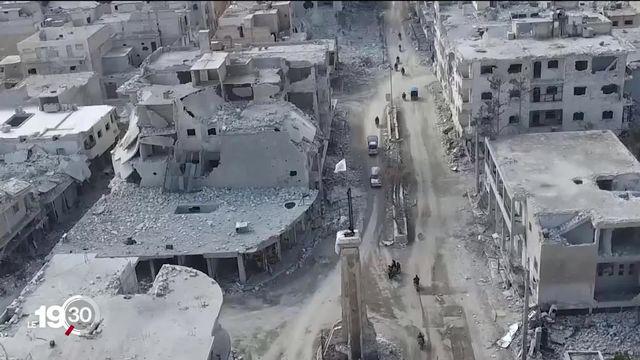 Cela fait maintenant 10 ans que la Syrie se retrouve plongée dans l'enfer de la guerre civile. [RTS]
