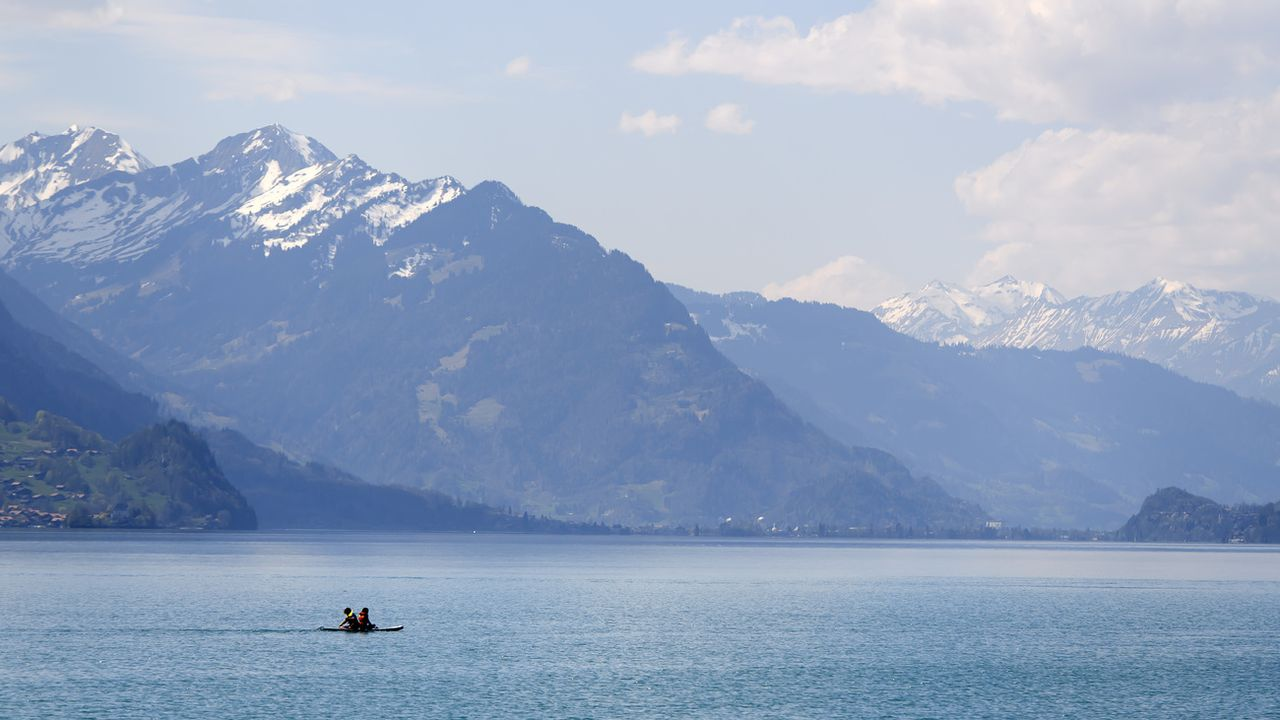 Le lac de Brienz. [Anthony Anex - Keystone]
