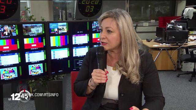 """Nuria Gorrite: """"Le tragique de cette situation, c'est qu'il n'y a pas de bonne décision"""" [RTS]"""
