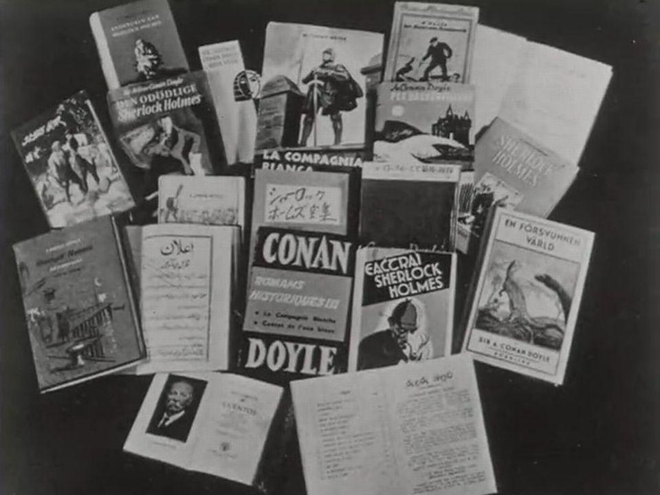 L'oeuvre de sir Arthur Conan Doyle [RTS]