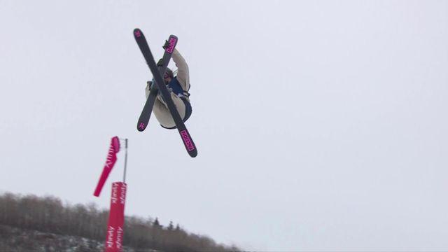 Aspen (USA), Big Air freeski dames: Sarah Höfflin [RTS]