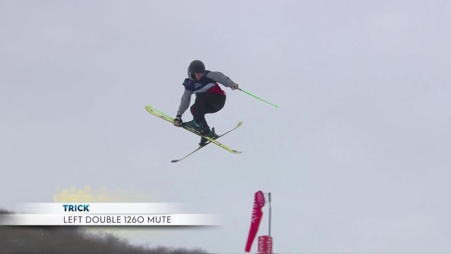Aspen (USA), Big Air freeski dames: la Russe Anastasia Tatalina s'impose à 20ans ! [RTS]