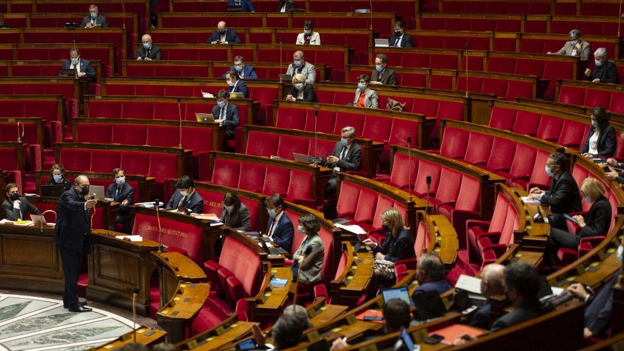 L'Assemblée nationale française inscrit le climat dans la Constitution. [Hugo Passarello Luna / Hans Lucas - AFP]