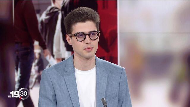 """Alexandre Legrain: """"Il faut reprendre les cours en présentiel"""" [RTS]"""