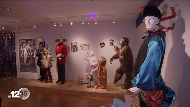 """""""Bas les masques !"""" Le musée jurassien d'art et d'histoire expose les carnavals jurassiens. [RTS]"""