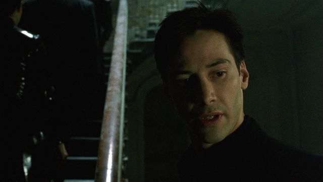 Matrix The Matrix 1999 d'Andy et Larry Wachowski Keanu Reeves. [Warner Bros./ Village Roadshow / Collection ChristopheL via AFP]