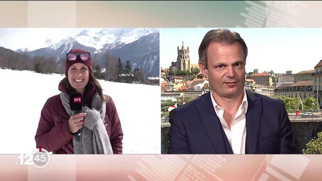 Le rendez-vous de la presse s'intéresse au ski suisse. [RTS]