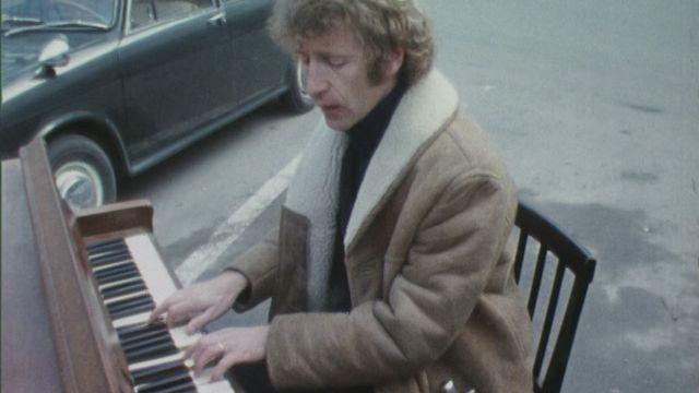 Michel Guex au piano [RTS]